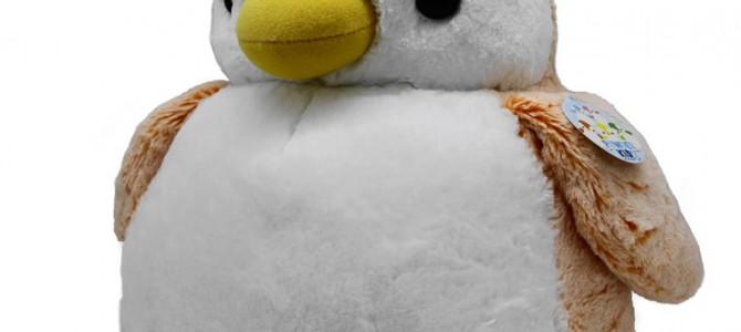 パウダーキッズ ペンギン L オレンジ